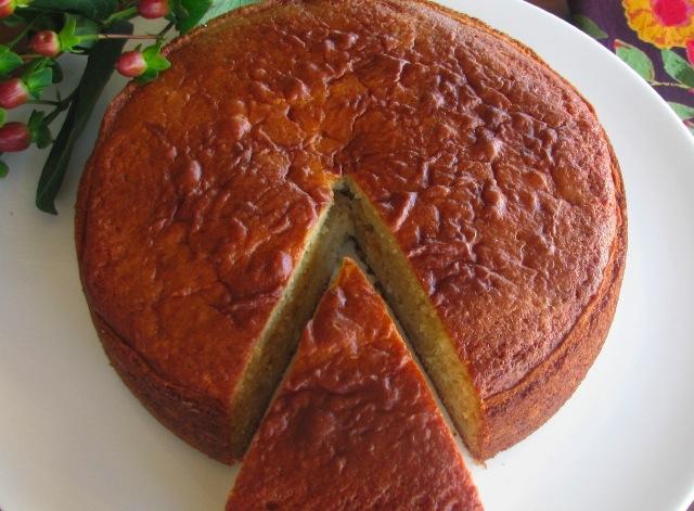 ... , the Yogurt Cake – Traditional French yogurt cake with apples
